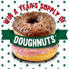 win a year of doughnuts