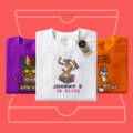 First T-Shirt Free with Monthly Tee Club