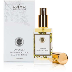 Free Lavender Bath & Body Oil