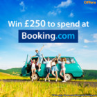 Win £250 to spend at Booking.com