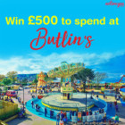 Win £500 to spend at Butlin's