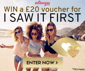 Win an I Saw It First voucher