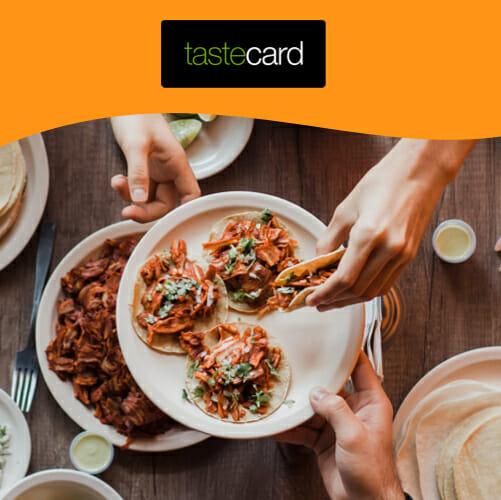 Tastecard free trial membership