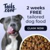 Tails - 2 weeks free dog food