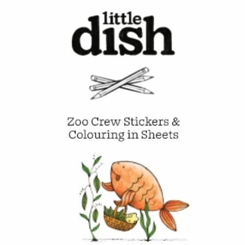 Free Kids Sticker & Colouring Sheet